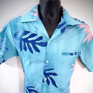 Vintage Hilo Hattie M men's Hawaiian shirt